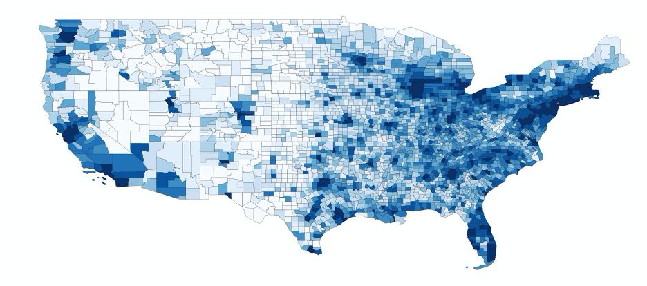 US Population Density